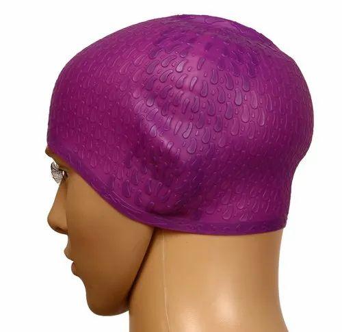 7d719cfdf26 Airavat KD Bubble Swimming Cap, Rs 549 /piece, KD Sports & Fitness ...