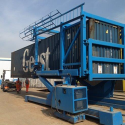 Hydraulic Container Tilter