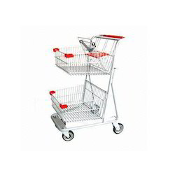 Shopping Trolley With Basket
