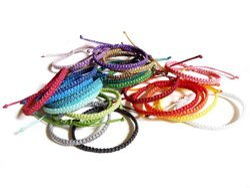 Stacking Thread Adjustable Friendship Bracelet for Girls