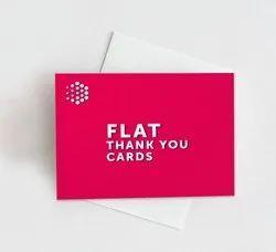 Pre-designed Fuji Thank You Cards, Shape: Square, Portrait Or Landscape., Size: Requested Size