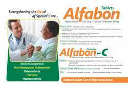 Alphacalcidol Calcium Carbonate Tablets
