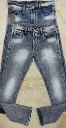 Denim Regular Fit Mens Assorted Plain Jeans