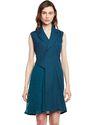 Beautiful Designer Summer Cool Green Trench Dress