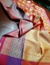 Banarasi Silk Linen Saree