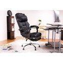 Black Revolving Office Chair