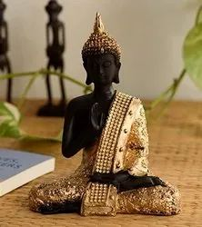 Polyresin Meditation Buddha Statue For Indoor Decoration