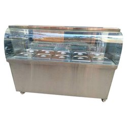Curved Glass Hot Bain Marie
