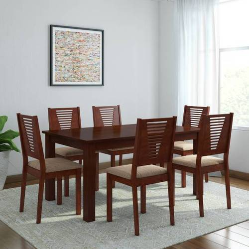 Sagwan Wood Dining Table Size 2 5 X 4 Feet Rs 30000 Set Lucky Furniture Interior Design Id 19926668688
