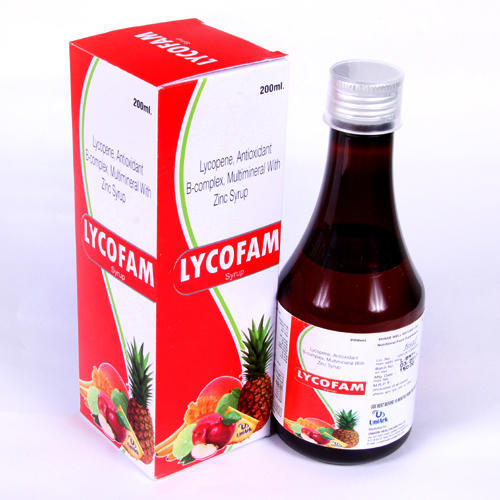 Lycopene Antioxidant B-Complex, Multimineral With Zinc Syrup