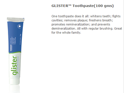 Glister Organic Toothpaste