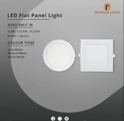 GFORCE 6W to 22W LED Flat Panel Light, 220V AC
