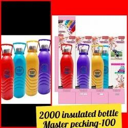 PET Insulated Plastic Bottles, Use For Storage: Woter, 2 liter