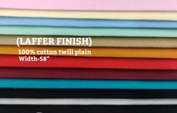 For making shirt Plain Cotton Fabric