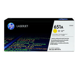 HP CE342A 651A Yellow Toner Cartridge