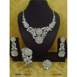 36029c98599 Dazzling Aaa Quality Necklace Set - Trendy Souk