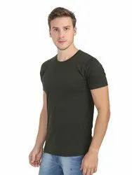 Mens Half Sleeve Crew Neck T Shirt