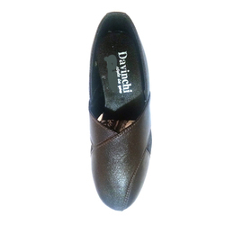 Black PU Leather Male Shoes, Size: 6 - 9 and 7 - 10
