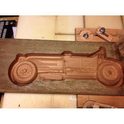 3D Redwood Carving Die
