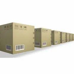 Cardboard Square Heavy Duty Corrugated Box, Box Capacity: 21-30 Kg