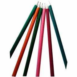 Black Paper & Polymer Velvet Pencil