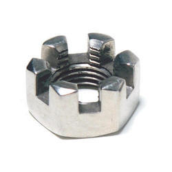 SS Castle Nut, Size: 2 To 3 Inch