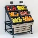 Vegetable Racks, For Supermarket
