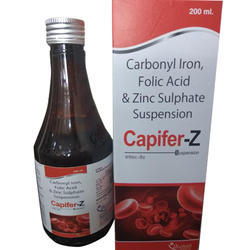 Carbonyl Iron Folic Acid Zinc Sulphate Suspension