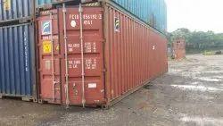 40 ft Galvanized Container