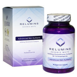 Relumins Advance White 1650mg Glutathione 90 Capsules