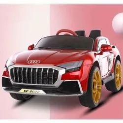 Single Seater Red Kids Audi Battery Car