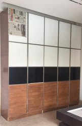 Openable Aluminum Doors For Closet Or Wardrobe