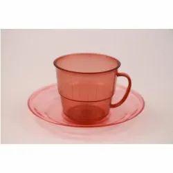 Plastics Cup & Saucer