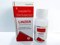 Linezolid  12 gm 30 mL Oral Suspension