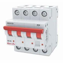 Single Phase 63 Amp Four Pole MCB Isolator