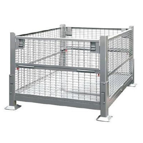 Wire Mesh Stacking Bins