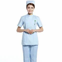French Terrain Female Nurse Uniforms, For Hospital