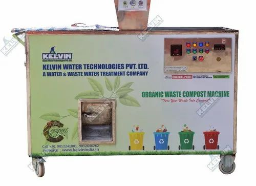 50 kg/day Fully Automatic Organic Waste Composter Machine