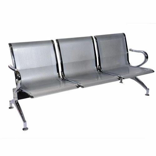 VJ Interior Metal Perforated Three Seater Sofa, Rs 4975 /piece | ID ...