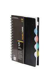 PP Cover 5 Subject Notebook A4 Size with 150 Sheets