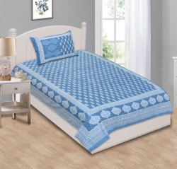 Floral Single Bed Sheet
