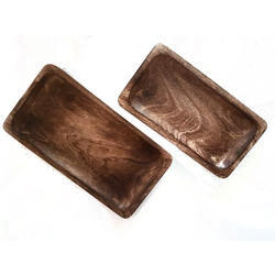Rectangular Wooden Platters