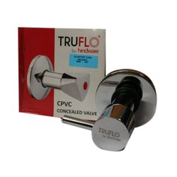 Truflo CPVC Concealed Valves, Model Name/Number: Triangle Quarter Turn
