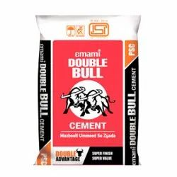 Emami Double Bull Cement, Packaging Size: 50 Kg, Cement Grade: Grade 53