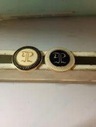 Brass Custom Metal Buttons, For Shirt, Round