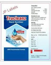 Sanitizer 100 Ml Printed Labels