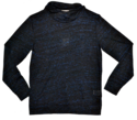 Mens Long Sleeve High Neck Injected Fabric Design Tees