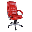 Executive High Back Red Chair