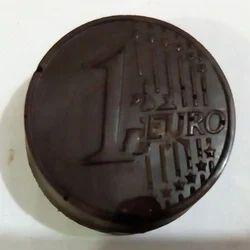 Chocoholics Brown Dark Round Chocolate