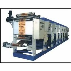 Automatic Gravure Printing Machine, Reel to Reel Delivery, Automation Grade: Automatic
